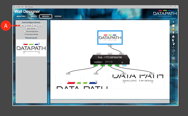 Tutorial How to setup a Datapath Fx4 for MXWendler with the